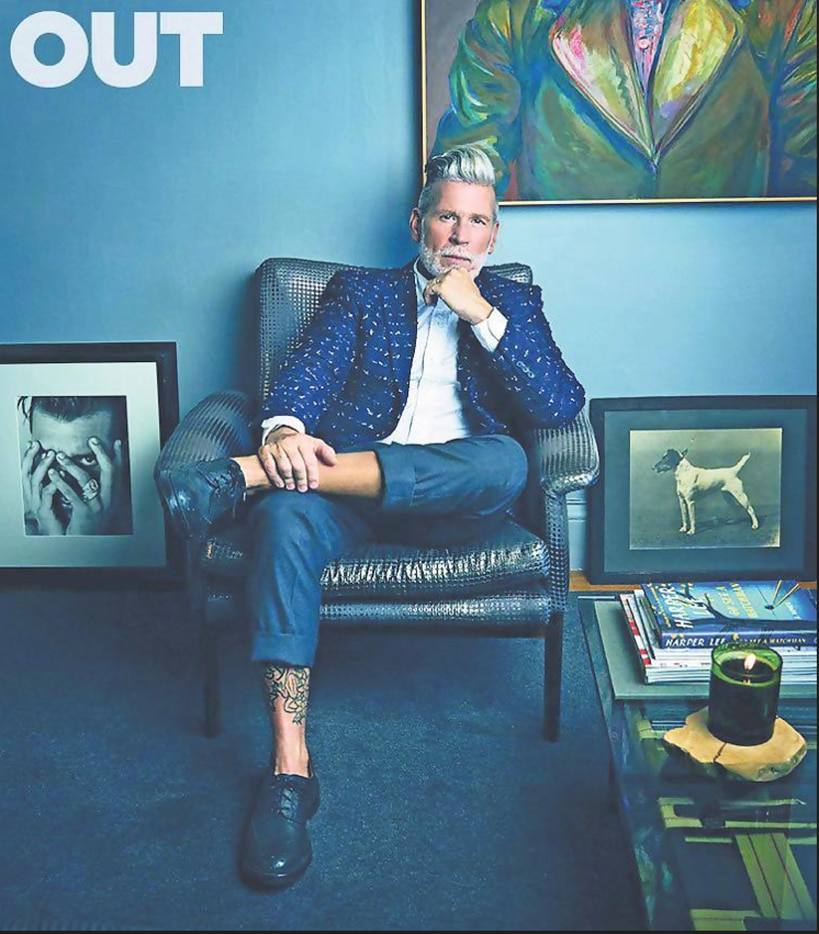 Forty Five Ten men's fashion director Nick Wooster has been a fixation in social media and magazines