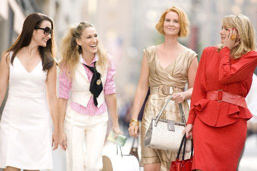 The original Sex and the City book — and its TV and movie spinoffs starring Kristin Davis (from left), Sarah Jessica Parker, Cynthia Nixon and Kim Cattrall) — has been (rightly) reappraised for its lack of diversity, its privilege and its materialism. But it did rewrite the playbook for young women by celebrating their sexual autonomy and foregrounding female friendship.