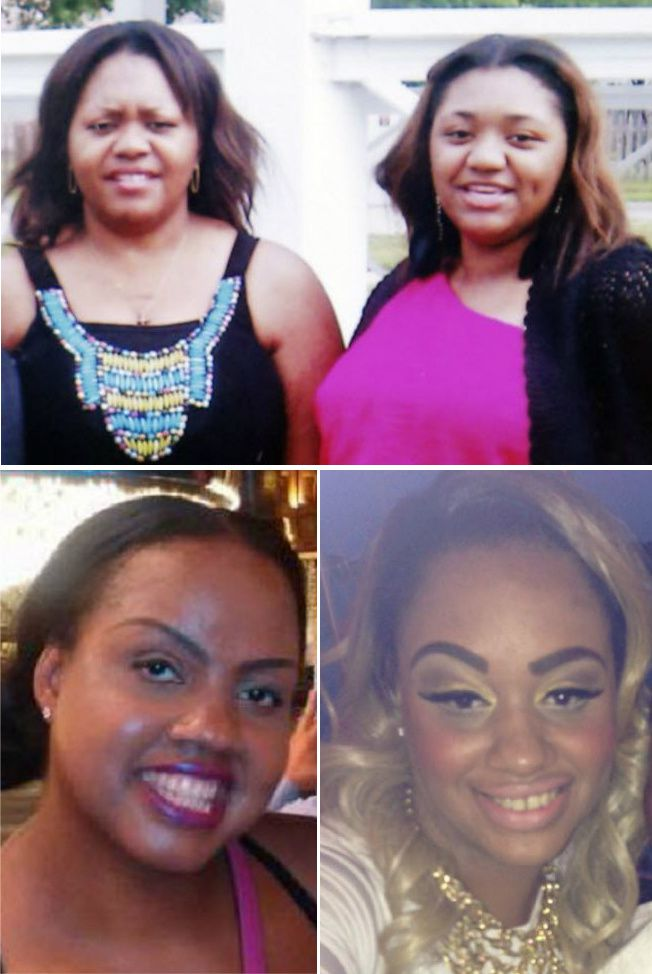 Those slain in the August 2013 attacks were Bowser's girlfriend Toya Smith (top) and her 17-year-old daughter, Tasmia Allen, and the killer's estranged wife Zina Bowser (left) and her daughter Neima Williams.