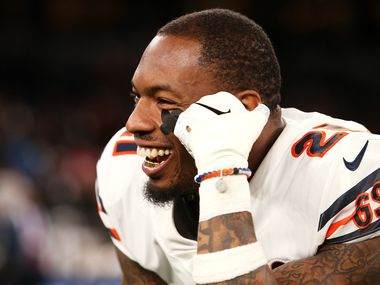 Ha Ha Clinton-Dix (21) of the Chicago Bears looks on after the game between the Chicago Bears and Oakland Raiders at Tottenham Hotspur Stadium on October 06, 2019 in London, England.