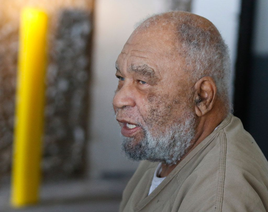 Samuel Little left the Ector County Courthouse after attending a pretrial hearing in Odessa in 2018. Little, who has confessed to killing more than 90 women across the U.S., has made several credible confessions to Texas Ranger James Holland.