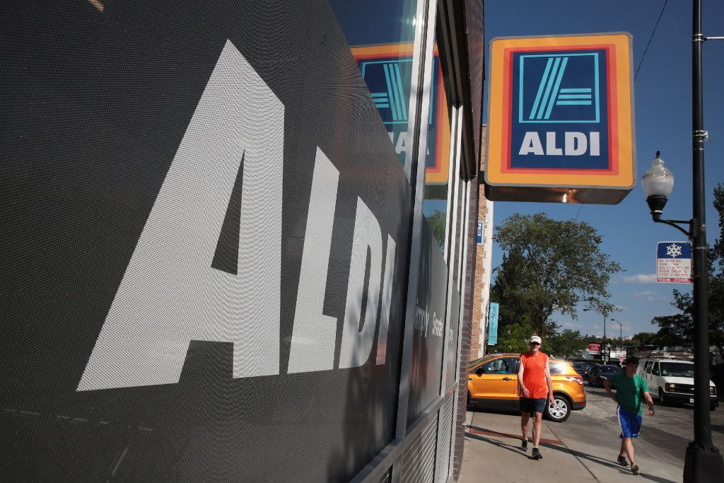 Aldi has announced plans to open 900 new stores in the United States in the next five years. The $3.4 billion capital investment would create 25,000 jobs and make the grocery chain the third-largest in the nation behind Wal-Mart and Kroger.  (Scott Olson/Getty Images)