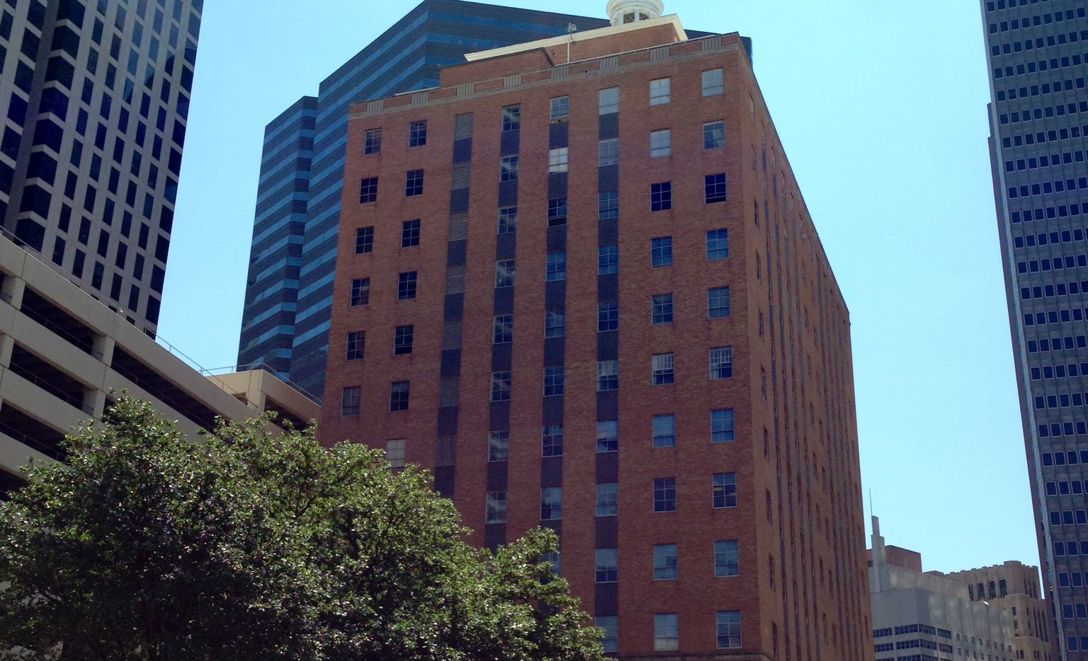The Hartford Building opened in 1959 on Harwood Street.