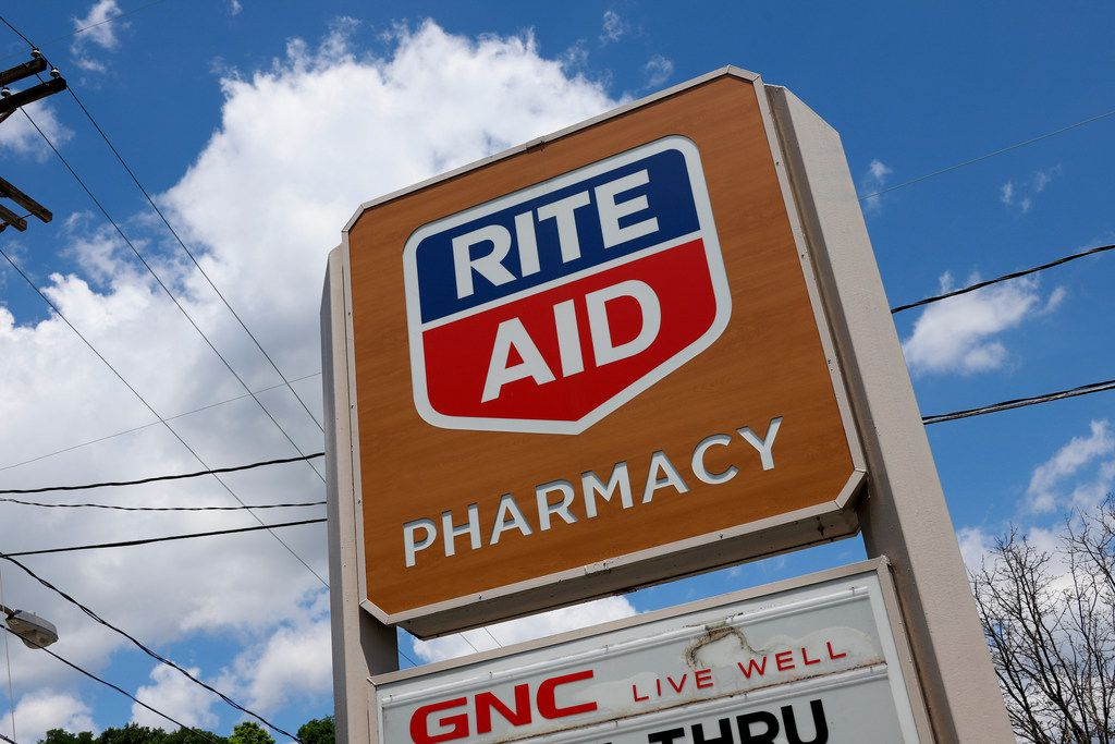 This is a sign outside a Rite Aid Pharmacy in Pittsburgh on Tuesday, June 25, 2019. (AP Photo/Gene J. Puskar)