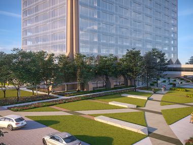 The 23-acre Pegasus Park development on Stemmons Freeway is a project of Dallas' J. Small Investments in partnership with Lyda Hill Philanthropies.