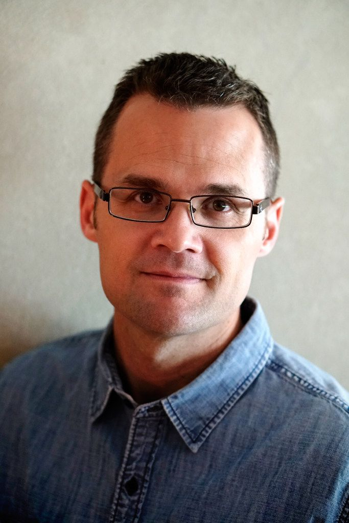 David Eric Tomlinson, author of The Midnight Man.