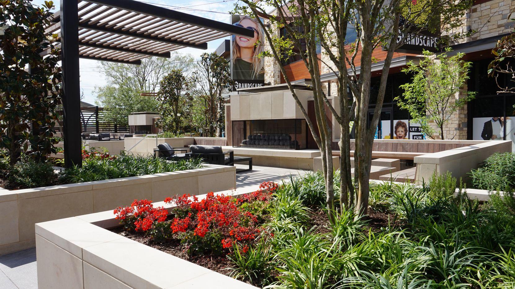 Grandscape is a new development in The Colony next to Nebraska Furniture Mart.