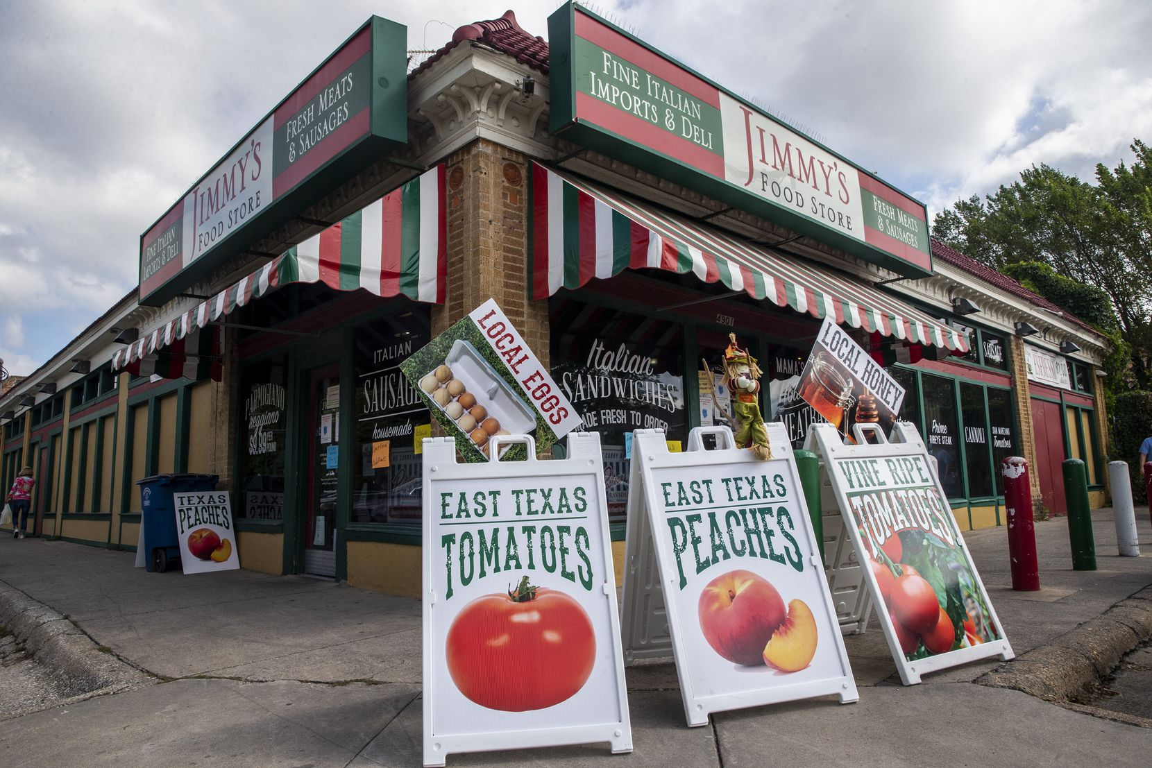 Jimmy's Food Store is located on Bryan Street in Dallas.