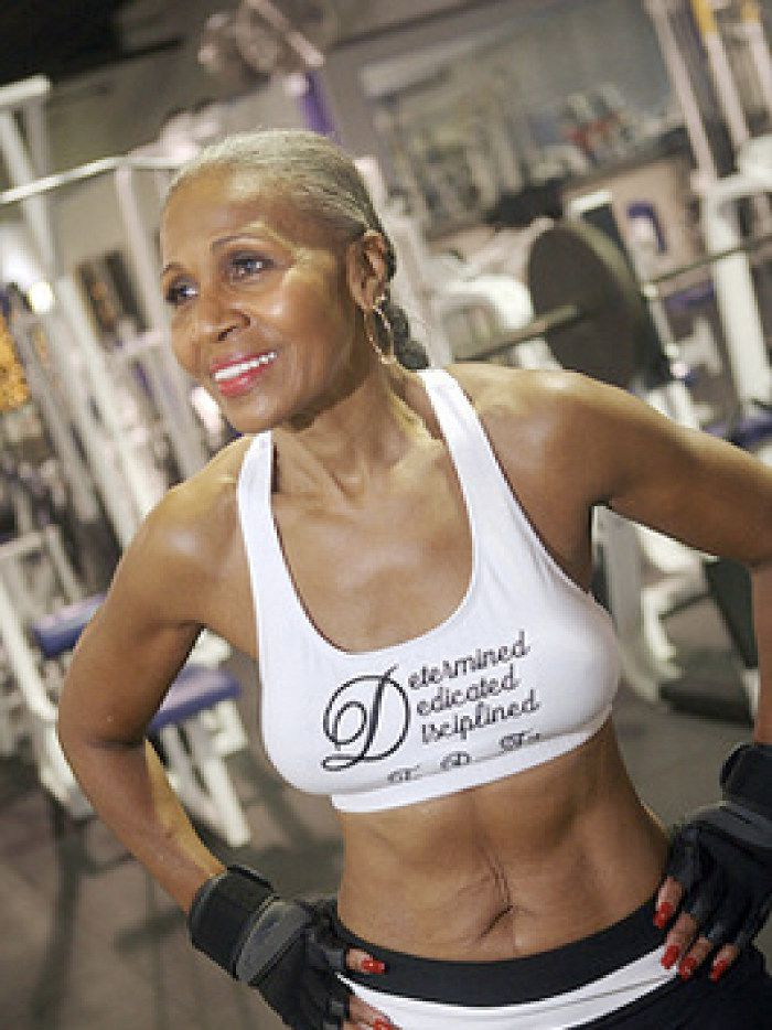 Ernestine Shepherd is 80. She runs every day, teaches exercise classes, will continue bodybuilding competition when her trainer (a former Mr. Universe) tells her to do so. She'll also be in Dallas for a Fit and Faithful Living: Women of Empowerment Luncheon.