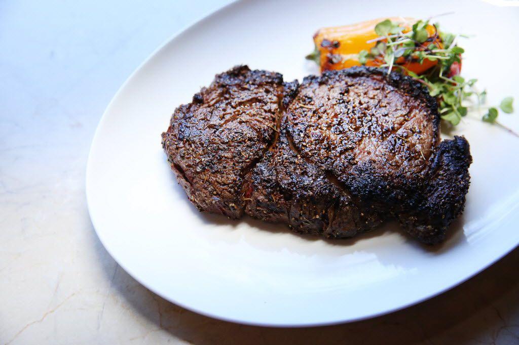 LAW's Akaushi rib-eye steak