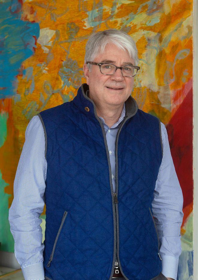 John Sughrue, chairman of the Dallas Art Fair