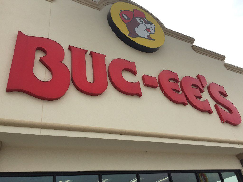 Buc-ee's Convenience Store at 4156 N. General Bruce Drive in Temple, Texas.