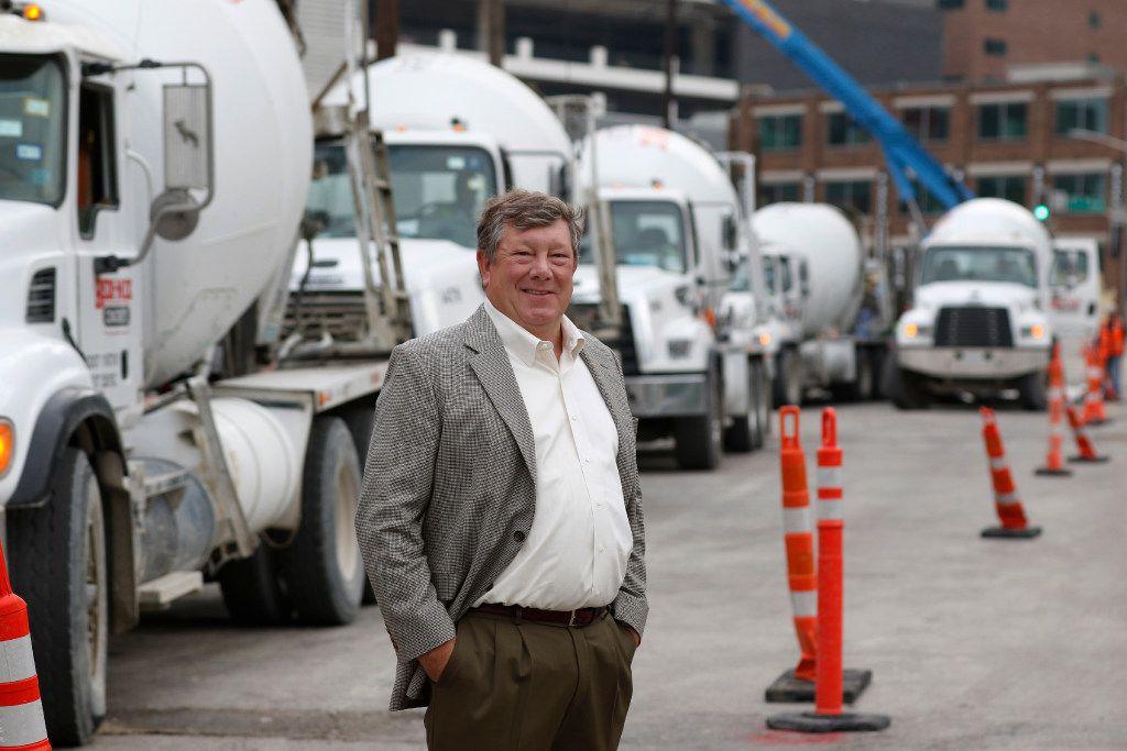 William Sandbrook led U.S. Concrete for the last nine years.