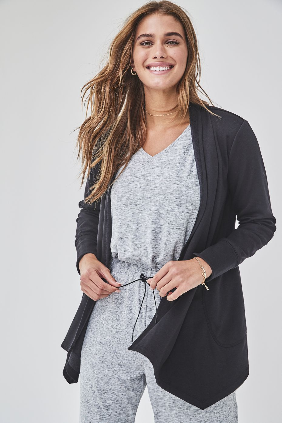 J.C. Penney's new Stylus women's apparel brand is made from woven knits and lightweight stretch fabrics.
