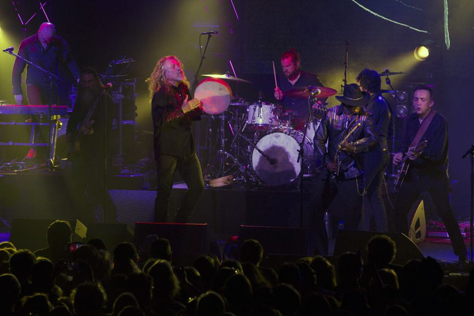 Robert Plant gave a shoutout to Deep Ellum during his Dallas show on March 15.