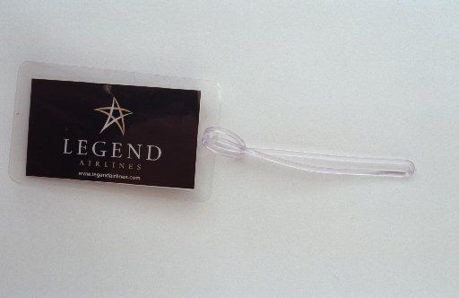 Stanley Korshak made Legend's luggage tags.
