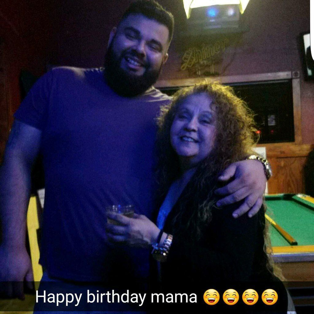 Rene Gamez and his mother, Judy Loera