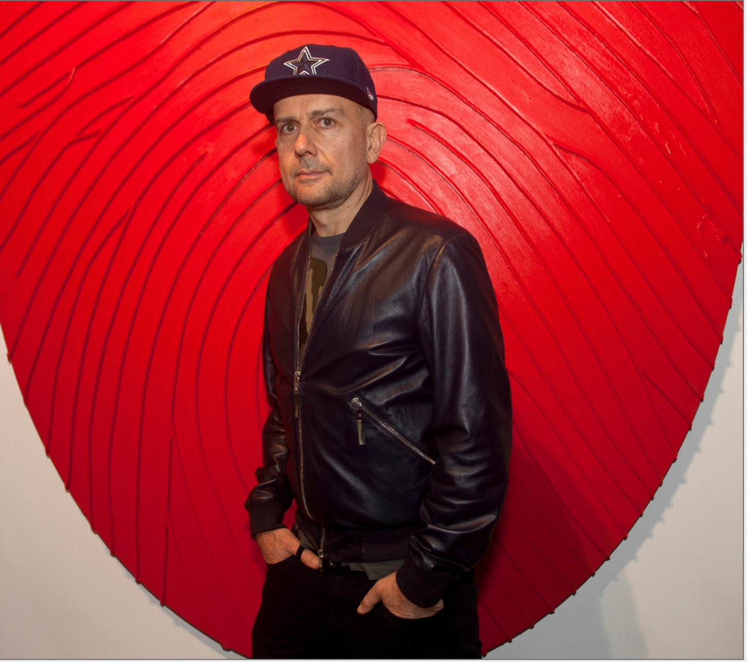 Artist Marc Quinn at MTV RE:DEFINE (Nan Coulter/Special Contributor)