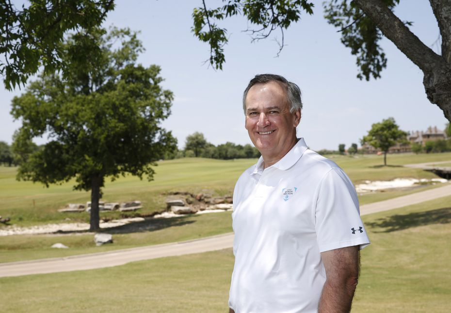 AT&T Byron Nelson tournament chair, John Jenkins poses for a portrait at TPC Craig Ranch in McKinney, Texas, on Thursday, May 7, 2020. This is the day the AT&T Byron Nelson tournament would have started before it was cancelled due to the coronavirus pandemic. (Vernon Bryant/The Dallas Morning News)