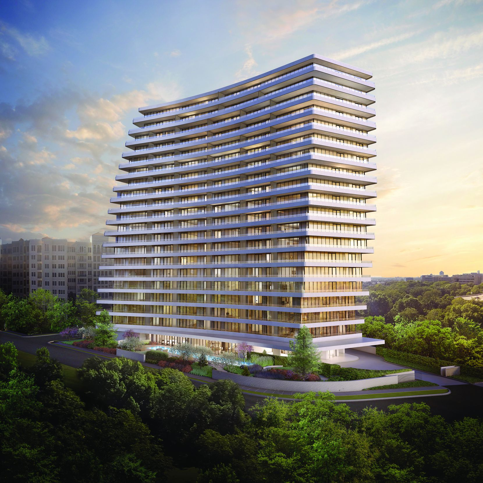 Ltd Edition | No. 2505 was the condo tower Great Gulf Homes had planned at 2505 Turtle Creek Boulevard.