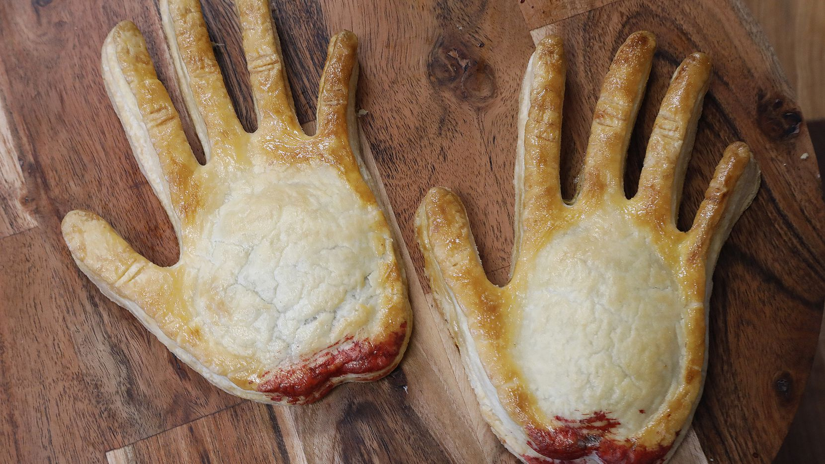 Cherry filled hand pies are on of the new pastries offered at La Casita Bake Shop in Richardson