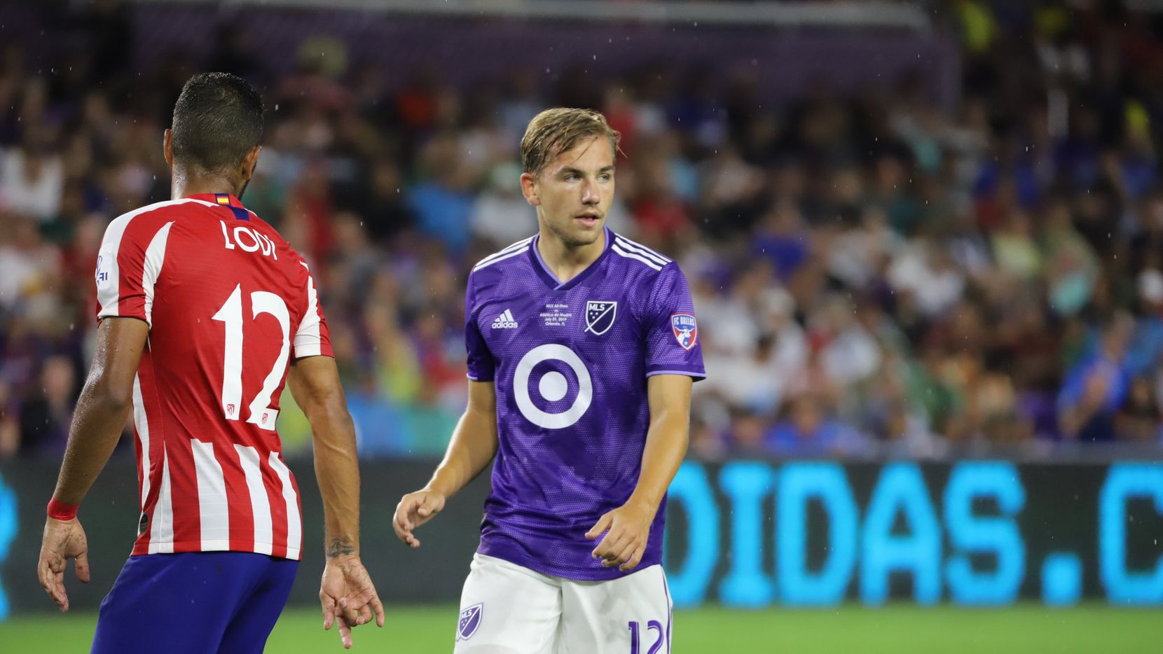 Paxton Pomykal takes part in the 2019 MLS All-Star Game. (7/31/19)