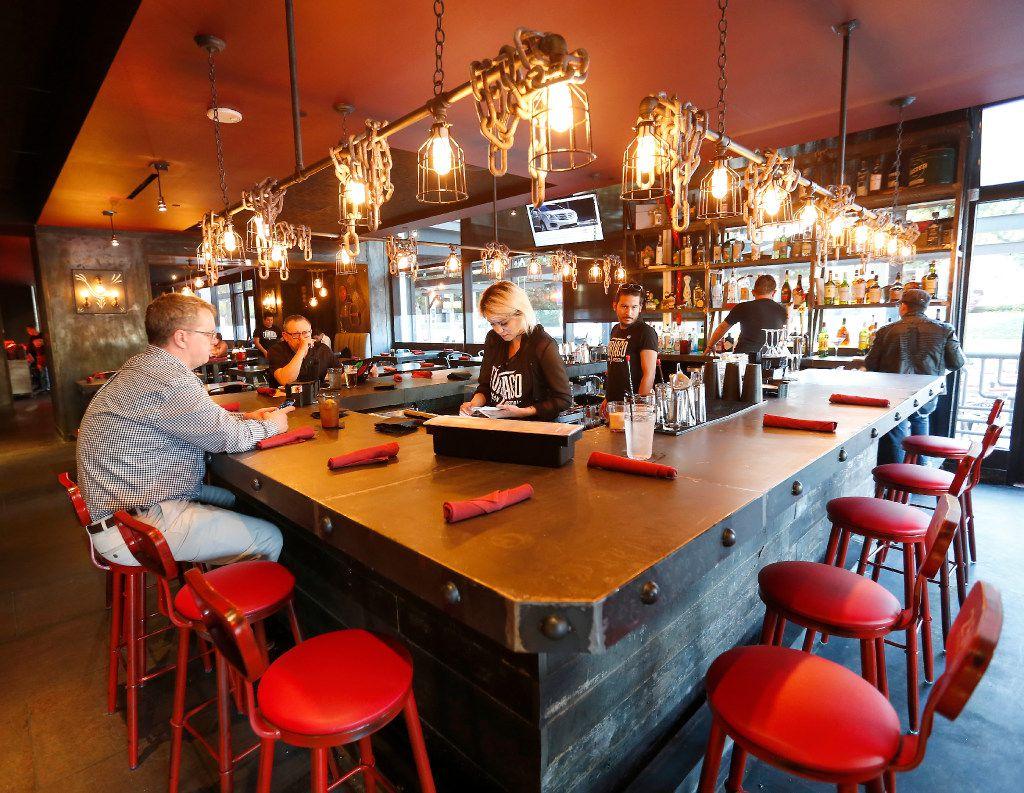 The bar at Tortaco in Dallas, Thursday, Nov. 17, 2016. (Jae S. Lee/The Dallas Morning News)