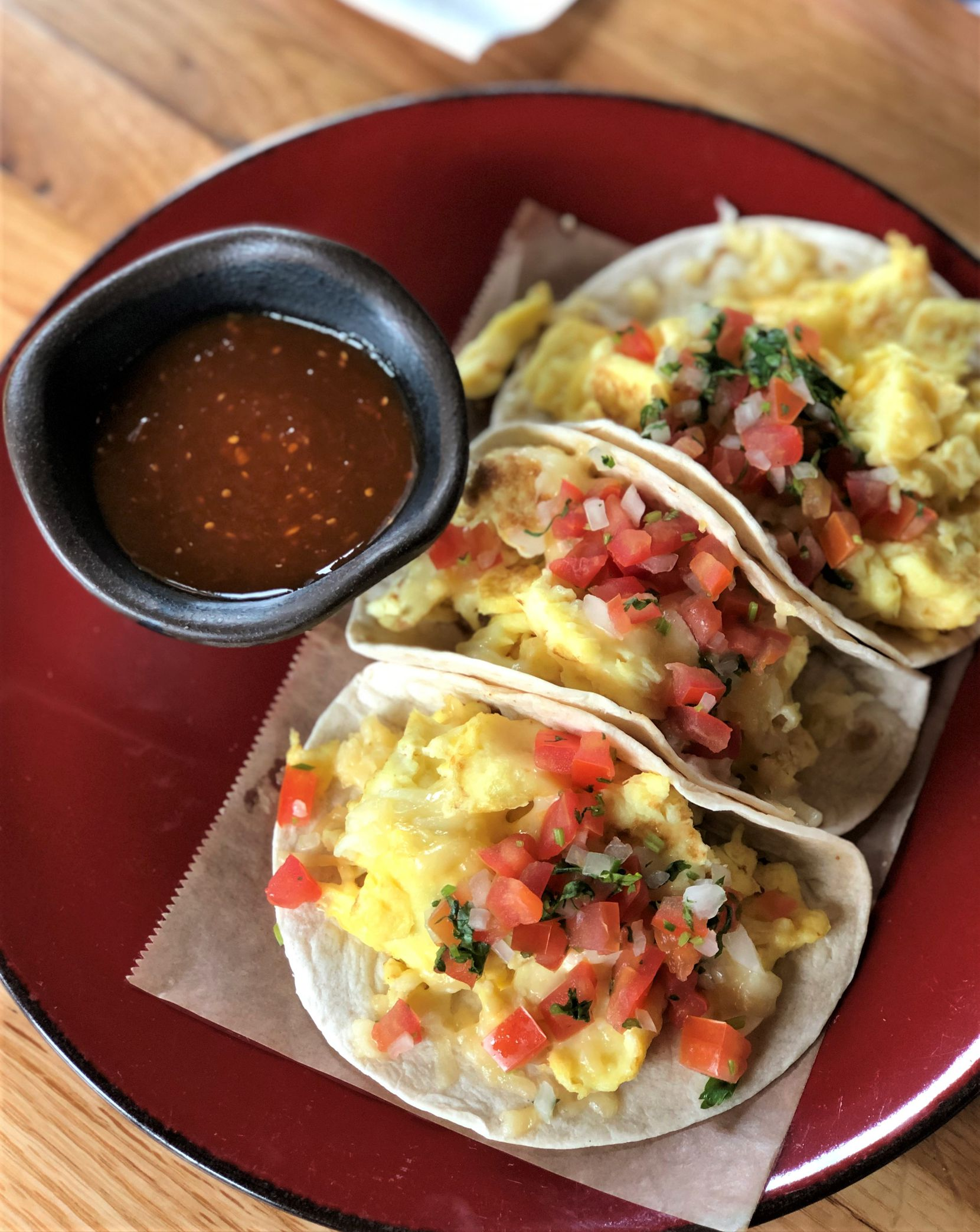Jalisco Norte offers migas tacos as part of its Father's Day brunch offerings this year. (Jalisco Norte)