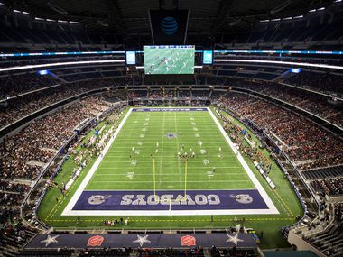 The Cowboys' AT&T Stadium has hosted UIL state championship games eight of the last nine years. (Smiley N. Pool/The Dallas Morning News)
