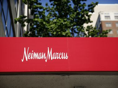 The Neiman Marcus flagship store in downtown Dallas is pictured on April 19.