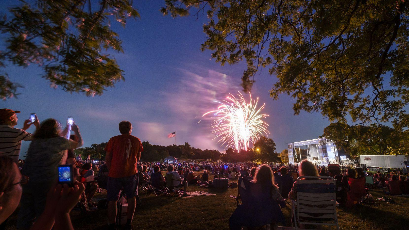 El concierto tradicional de la Sinfónica regresa a Flag Pole Hill este año.