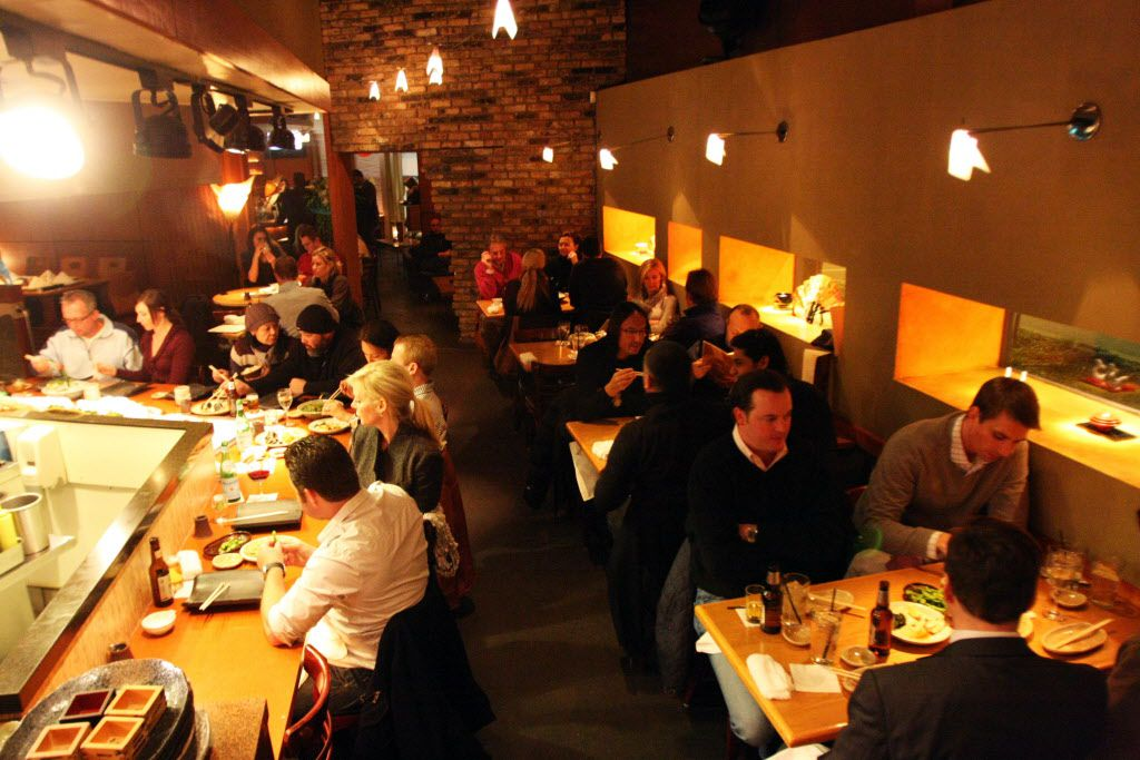 The dining room at Tei Tei