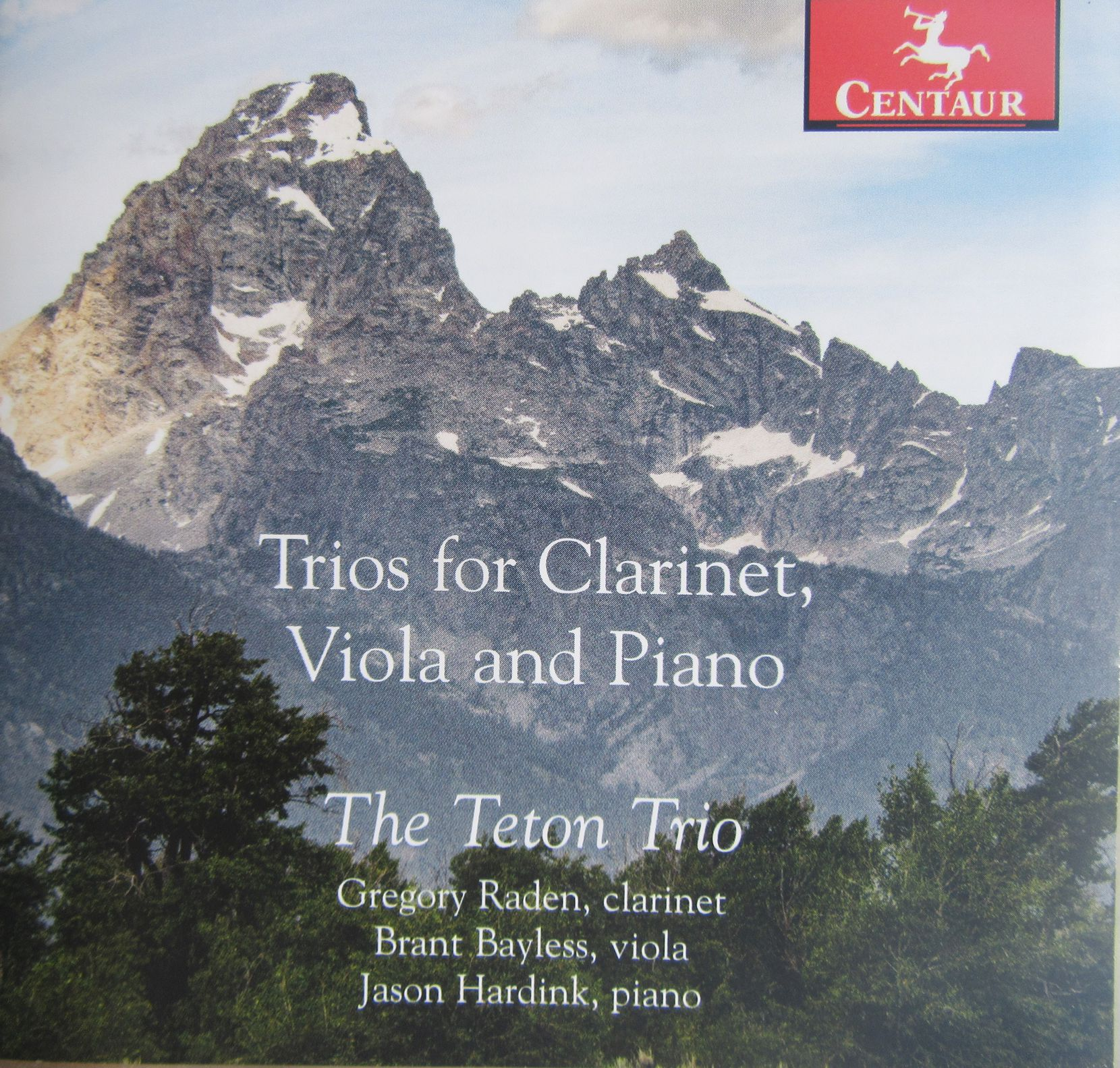 This new recording of clarinet trios by the Teton Trio features Gregory Raden, Brant Bayless and Jason Hardink.