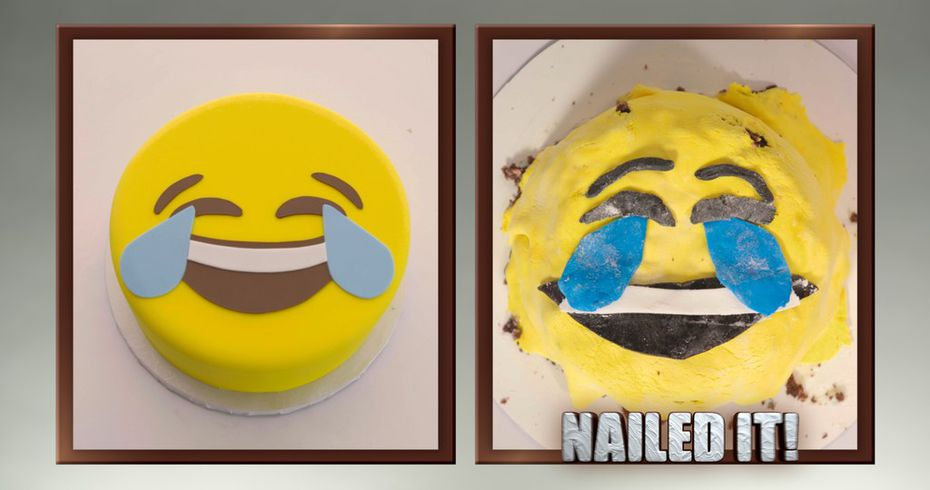 Does this 'Nailed It!' baker get credit for ... trying?