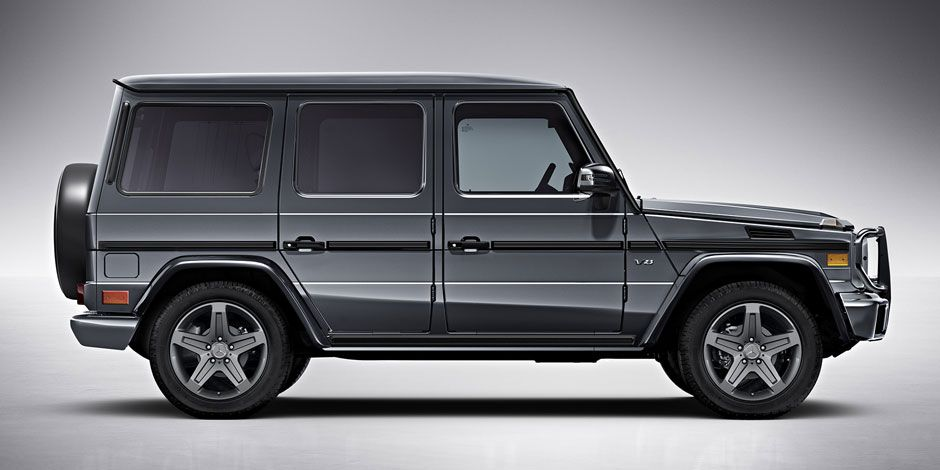 2016 Mercedes-Benz G-Class SUV (Mercedes-Benz USA)
