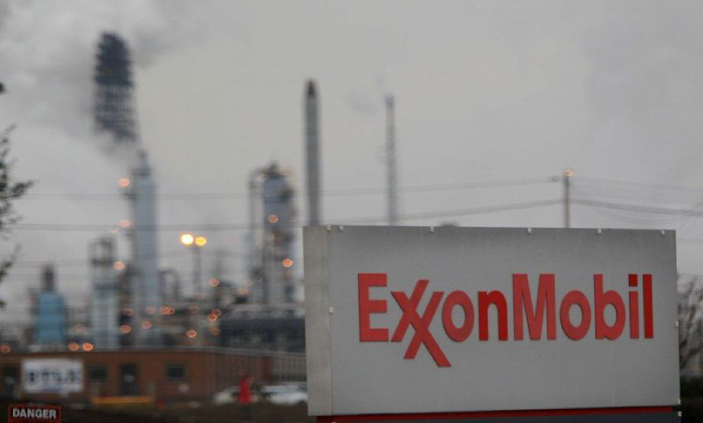 Exxon Mobil's Corp's Baytown complex, where a fire injured 37 people on Wednesday, Aug. 1, 2018.