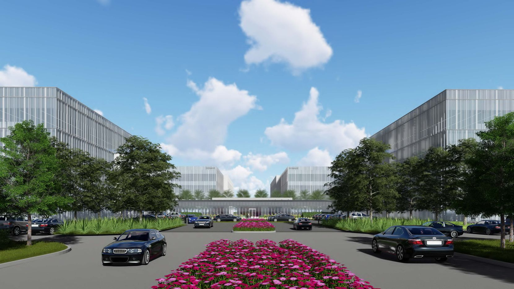 Billingsley Co. plans four more office buildings at International Business Park in West Plano.