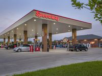 Speedway operates large banks of gasoline pumps similar to RaceTrac and QuikTrip. Irving-based 7-Eleven has agreed to purchase 4,000 Speedway stores for $21 billion. The deal is expected to close in the first quarter of 2021.