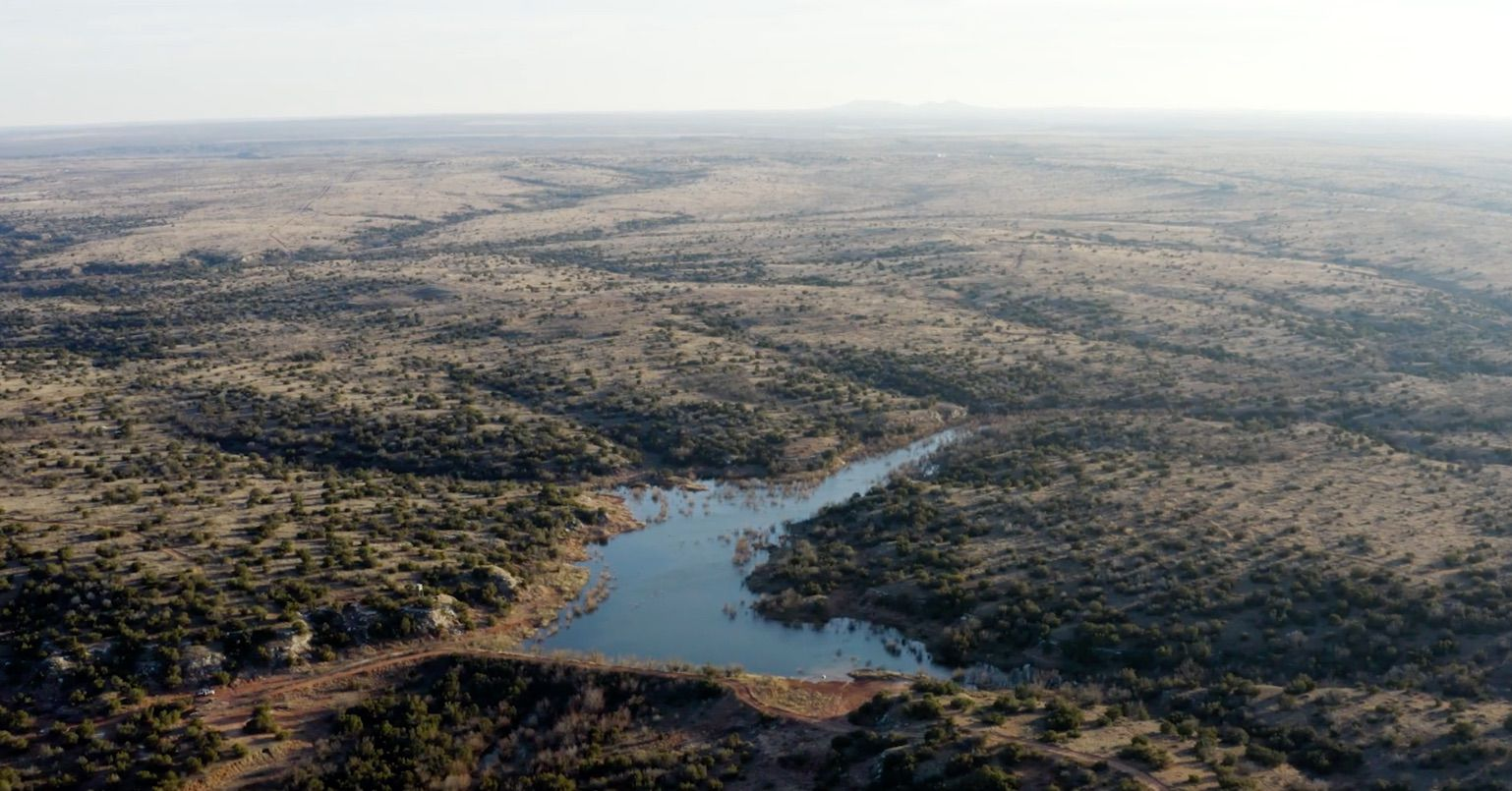 The ranch is northwest of Abilene.