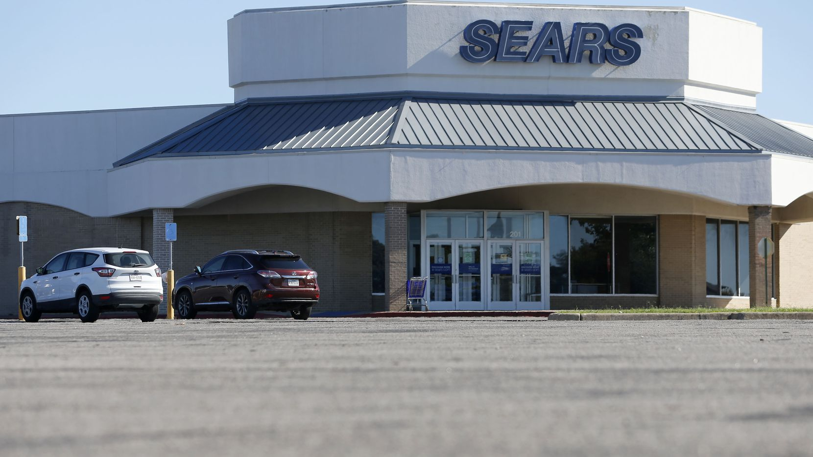 Sears at Richardson Square closed in 2019 and the building is being redeveloped.
