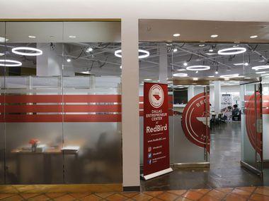Dallas Entrepreneur Center at RedBird inside Red Bird Mall, also known as Southwest Center Mall, in Dallas on Tuesday, April 23, 2019. (Vernon Bryant/The Dallas Morning News)