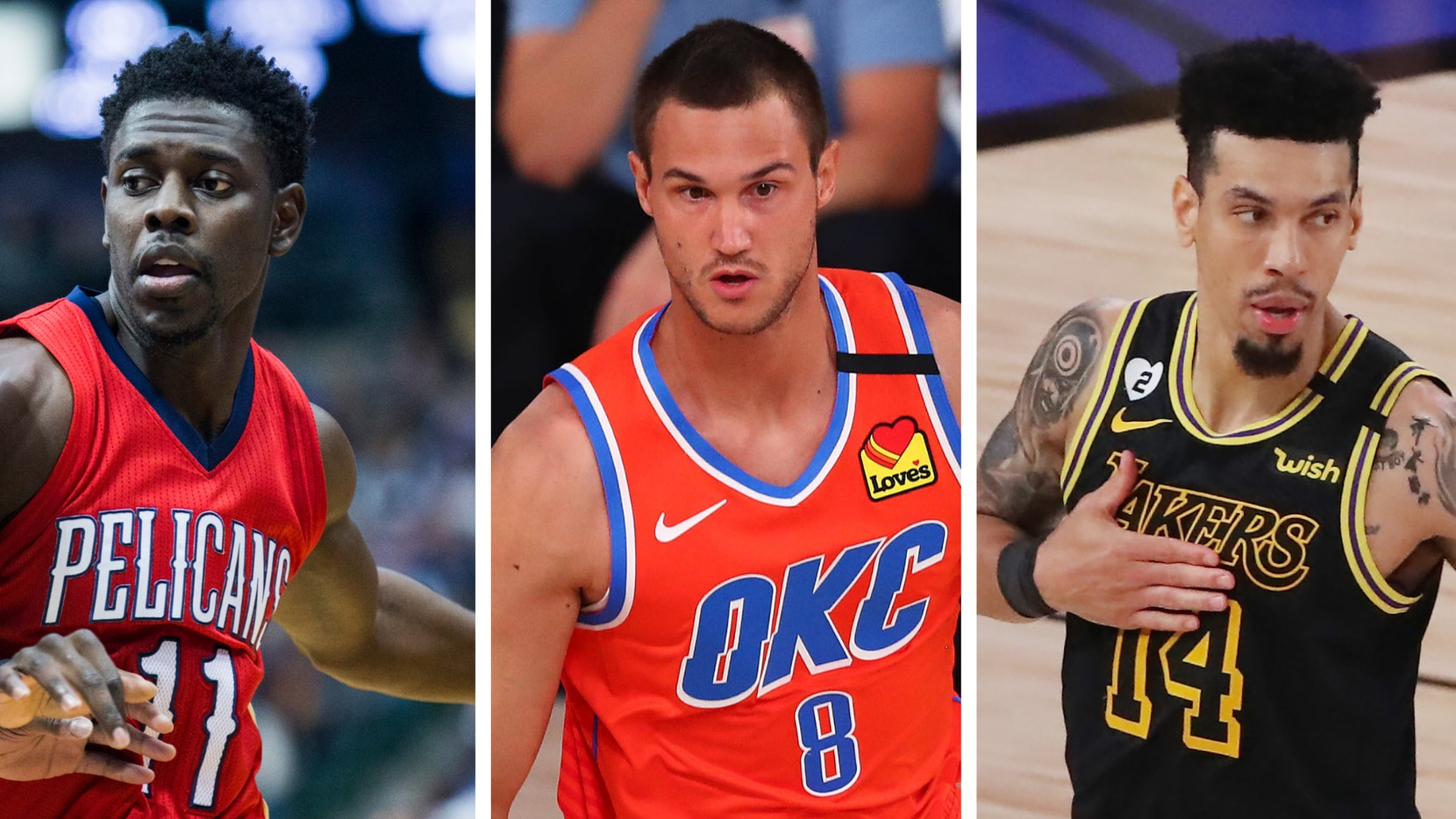 Monday the Mavs dove into a week of potential trades, Wednesday night's draft and Friday's start of free agency that will greatly shape the fast-approaching NBA season. (Photo credit: The Dallas Morning News/Ashley Landis, left; Getty Images/Kim Klement, middle; Getty Images/Sam Greenwood, right)