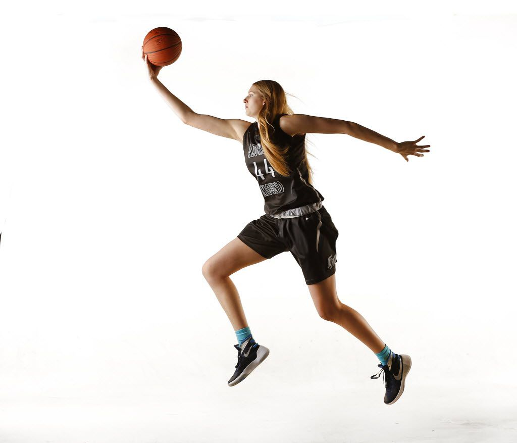 Flower Mound McDonald's All-American basketball player Lauren Cox is The Dallas Morning News Player of the Year.  Lauren has signed on with the Baylor Lady Bears. She is photographed, Tuesday, March 8, 2016 in the DMN studio. (Tom Fox/The Dallas Morning News)