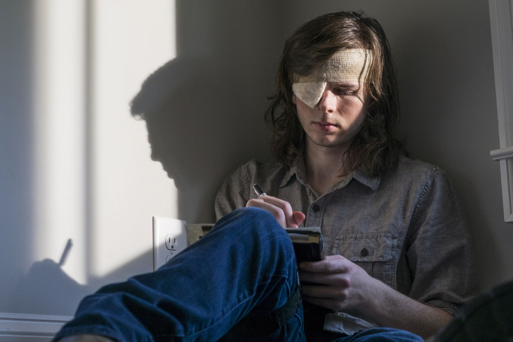 Chandler Riggs as Carl Grimes in 'The Walking Dead.'
