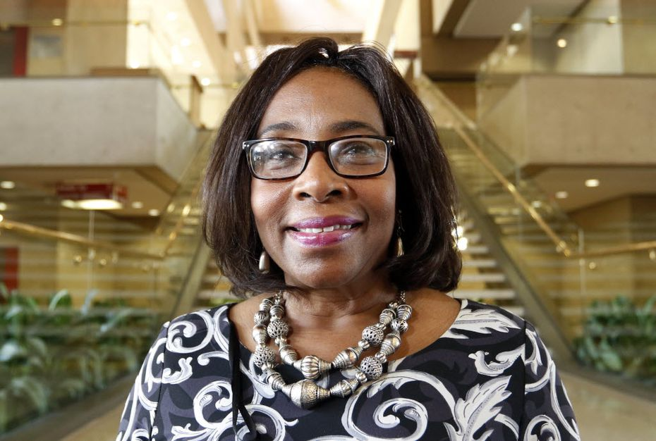 Dallas council member Carolyn King Arnold. She serves City Council District 4. (Ron Baselice/Staff Photographer)
