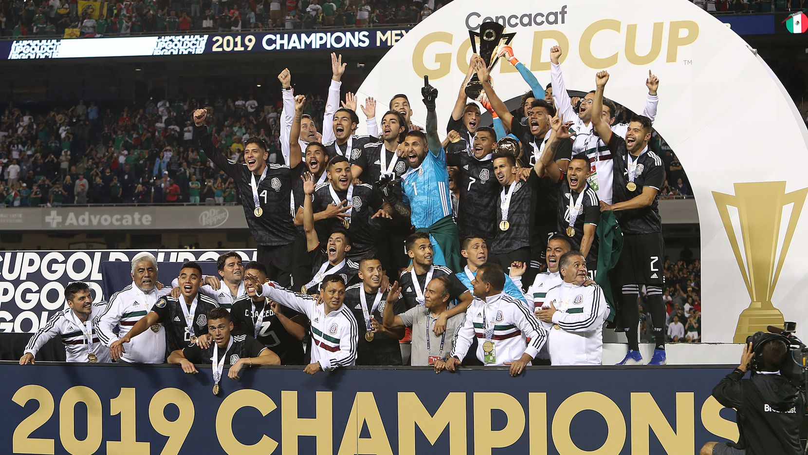 México venció 1-0 a  Estados Unidos en la final de la Copa Oro 2019. Foto de Omar Vega para Al Día