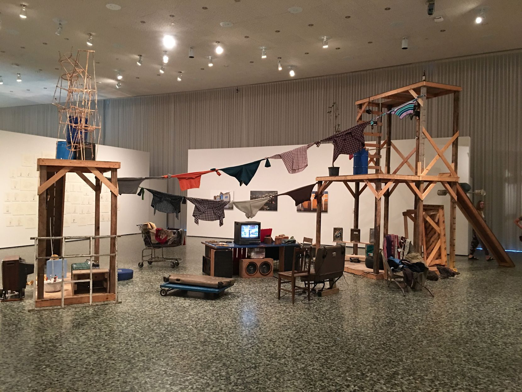 Abraham Cruzvillegas: Autoconstrucción, at the Museum of Fine Arts, Houston