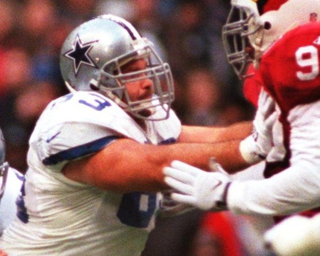 Mike Kiselak started seven games at center for the Dallas Cowboys during the 1998 season.