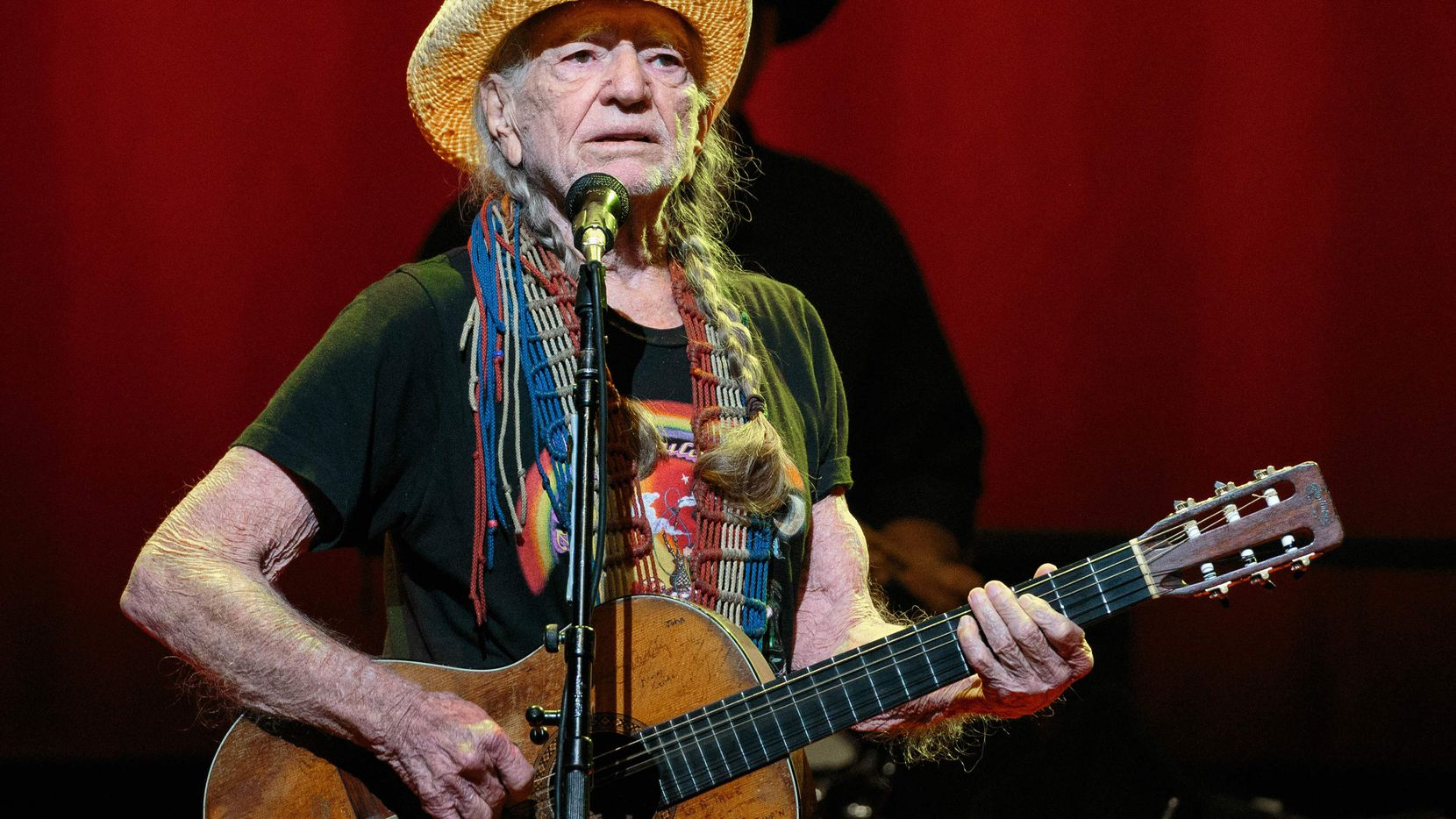 """Willie Nelson says he's moving the release of his new album, """"First Rose of Spring,"""" from April 24 to July 3."""