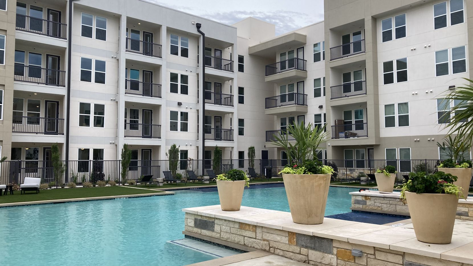 File photo of Carbon Cos. Latitude apartments in Plano. The developer has built almost 16,000 rental units in the last three decades.